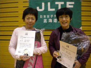 シニア級優勝 高木・丹羽