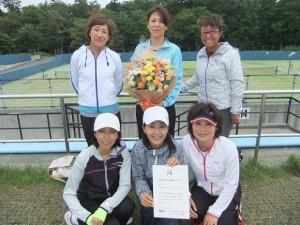 ABオープン優勝 マードンナ6(菊池・木澤・谷口・徳丸・高島・工藤)
