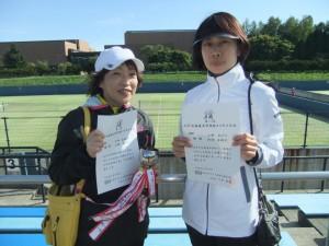 2015コスモス D級優勝 外崎・小野