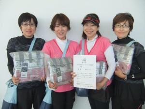 2015フレシュフォー B級優勝 松ぼっくり 松浦・石橋・舟見・松岡