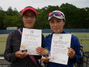 B級優勝 伊藤・石岡