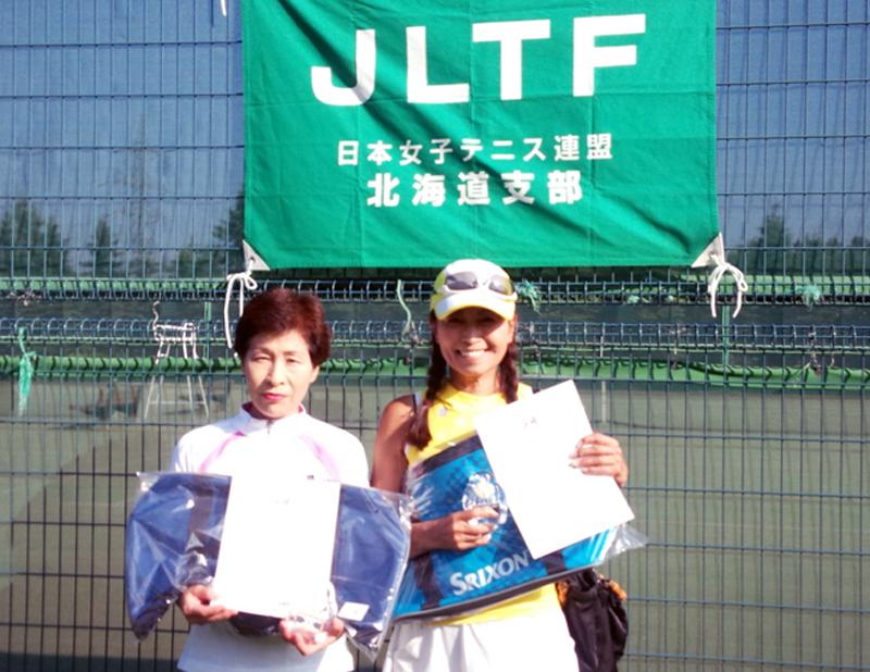 60歳以上級優勝 北俣・小松