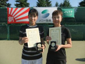 2016全国レディース優勝 玉田・三浦